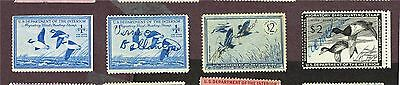 Usa Duck Stamps F-Vf Used (Uje8,3