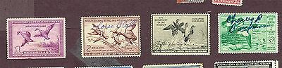 Usa Duck Stamps F-Vf Used (Uje8,2