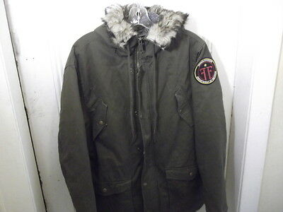 Fringe-Tv Series-Original Crew Parka  Jacket-Fringe Division-Very  Rare!