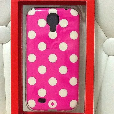 Kate Spade Pink And White Polka Dot Phone Case For Samsung Galaxy NWT