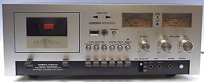 GREAT Vintage Akai GXC-730D Stereo Cassette Deck - Just Serviced w Free US Ship!
