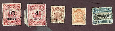 North Borneo F-Vf Used Odds And Ends   (Fay18
