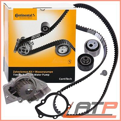 Contitech Timing Cam Belt Kit + Water Pump Peugeot 206 2.0 00-