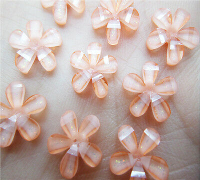NEW 50 PCS 10mm Resin flatback Bling Scrapbooking for phone/wedding/Crafts BW09