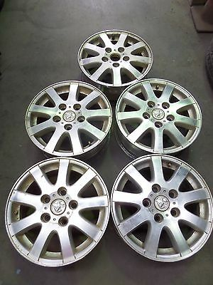 Holden Commodore 15 X 6 Mag Wheels Alloy Rims Set Of 5