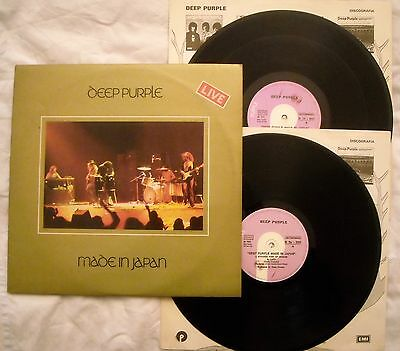 DEEP PURPLE - MADE IN JAPAN LIVE - ANNO 1972 - 2 LP - 1° Stampa italiana