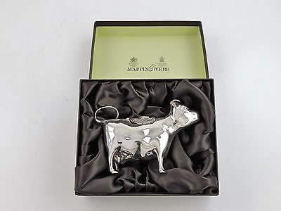 Mappin & Webb SILVER COW CREAMER, London 2007 Novelty milk pitcher CREAM JUG