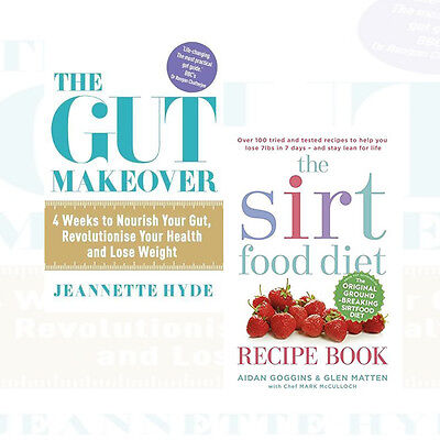 The 8 week blood sugar diet and sirtfood diet recipe collection 2 sirtfood diet recipe book and the gut makeover 2 books collection set new pack forumfinder Images