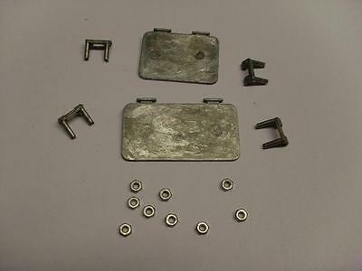 Mato Panzer III Metal Front Hatches for 1:16 Scale RC Tank BN