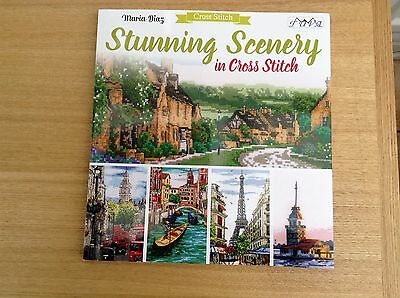 Stunning Scenery in Cross Stitch by Maria Diaz Paperback BN