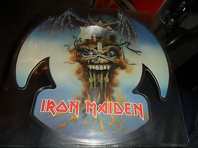 Iron Maiden.the Evil That Men Do.shaped Picture Disc