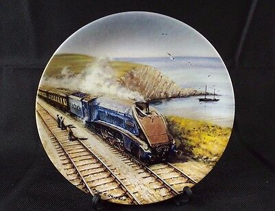 Decorative Plate by Paul Gribble BRADEX Great Steam Trains 'The Queen of Scots'