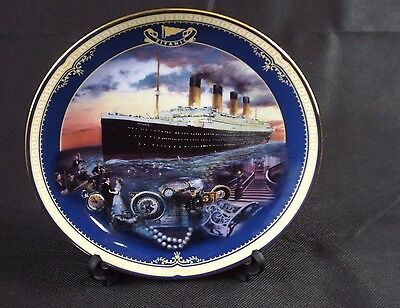Decorative Plate by James Griffin BRADEX Queen of the Ocean 'Maiden Voyage'
