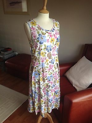 vintage floral 90s grunge summer dress size 14