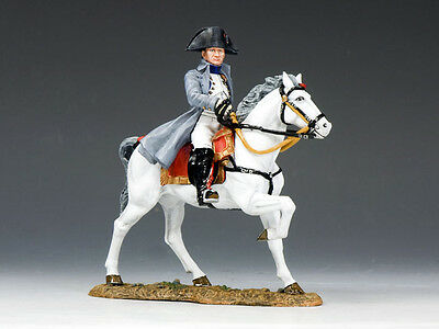 KING AND COUNTRY NAPOLEONIC Mounted Napoleon NA237 Painted Metal