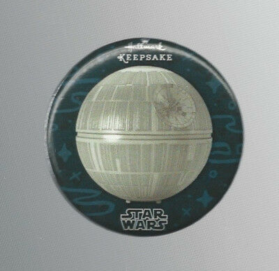 2016 SDCC Exclusive Hallmark Keepsake Star Wars Death Star Promo Button / Pin