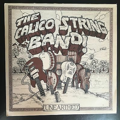 The Calico String Band - Unearthed UK 1976 LP Red Rag Recs (Test Pressing)
