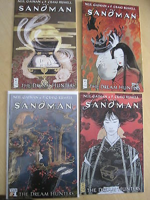The SANDMAN : THE DREAM HUNTERS, COMPLETE 4 ISSUE SERIES by GAIMAN, RUSSELL.2009