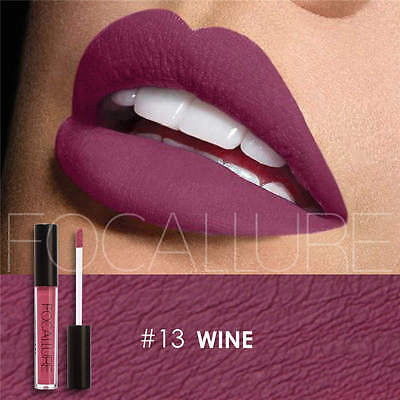 FOCALLURE Matt Lippenstift Wasserdicht Lippen Make Up Lang Andauernd Beauty Mode