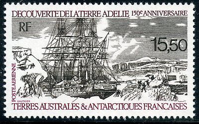 Timbre T.a.a.f. / Terres Australes Neuf Pa N° 111 ** Voiliers Cote 7,20 €