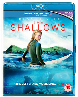The Shallows Blu-ray (2016) Blake Lively, Collet-Serra (DIR) cert 15 Great Value