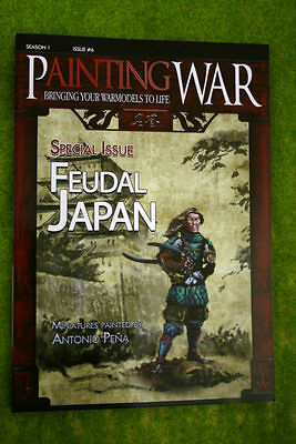 Painting War Issue #6 Feudal Japan Book/ Magazine