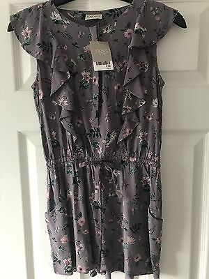 Girls Next Floral Playsuit Age 10 Years New Tagged