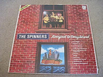 THE SPINNERS Liverpool To Coney Island    1976 PHILIPS   superb EX+