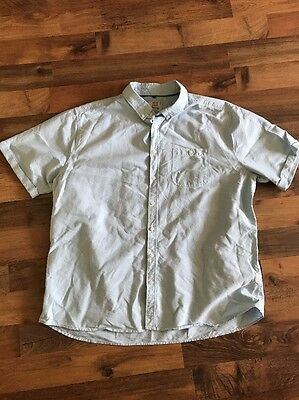 George Men's Short Sleeve Oxford Shirt Size 3xl