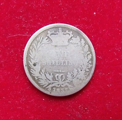 1837 William IV silver Shilling scarce coin good SPACE FILLER