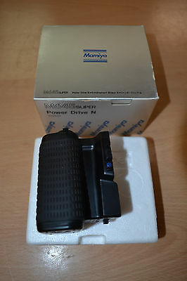 Mamiya YO1670 Power Drive Grip Motor Winder for M645 Super 645 Pro TL