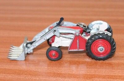 Corgi Massey Ferguson Tractor With Shovel.