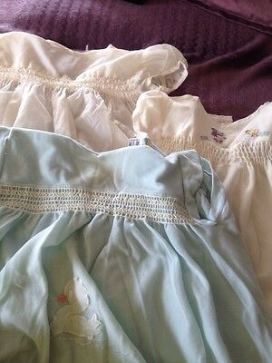 Three Vintage Boys Romper Suits