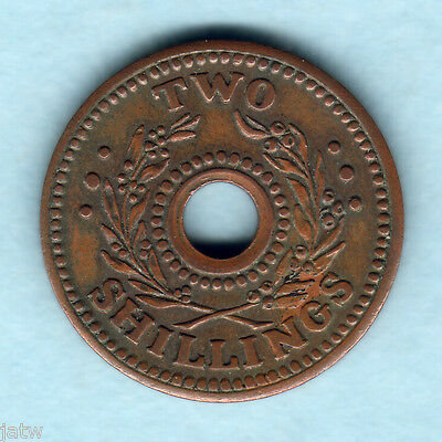 Australia - Internment Camps. WW.11 Two Shillings..  gVF