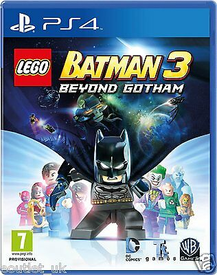 LEGO Batman 3 Beyond Gotham for Sony Playstation 4 PS4 NEW SEALED