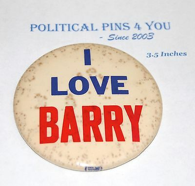 1964 BARRY GOLDWATER campaign pin pinback button political republican LOVE BARRY