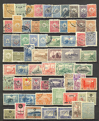 Turkey - Lot Of Interesting Old  Stamps, Various Condition And Quality. See Scan