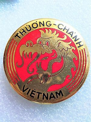 French Indochina War Vietnamese Customs Troops Badge 1953 (Rom)