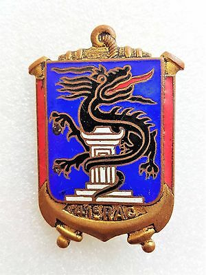 French 41 Colonial Artillery Regiment Badge 1948 Indochina (Dom)