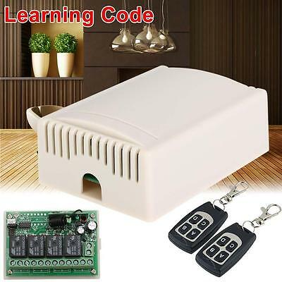 DC12V 4CH Channel Wifi Remote Control Radio Relay Switch Transceiver Receiver G=