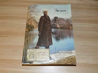 Vintage Sears Fall and Winter 1970 Old Catalog