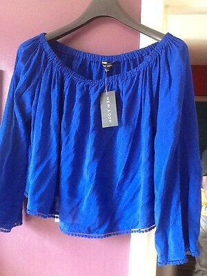 *** Women's New Look Off Shoulder Top Brand New With Tags ***