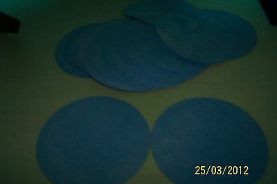 Silicone Discs Blue  High Temp Fda 1/16""