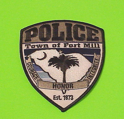 Fort Mill  South Carolina  Est. 1873  Sc   Police Patch   Free Shipping!!!