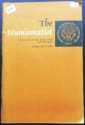 Vintage 1969 American Numismatic Association Collectors Coins Tokens - Whitman