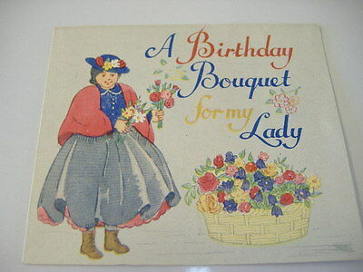 Vintage Mia Birthday Card