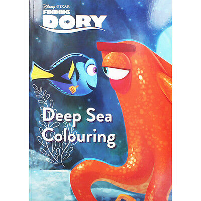 Finding Dory Deep Sea Colouring by Disney (Paperback), Children's Books, New