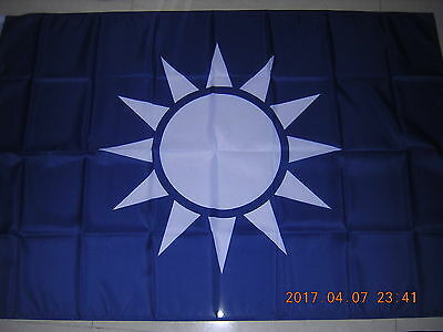 Republic of China ROC Taiwan WWII Chinese Naval Ensign KMT Navy Flag 3ftX5ft