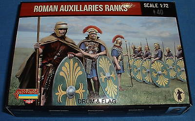 STRELETS Set M 124 - ROMAN AUXILIARIES RANKS - 1/72 SCALE