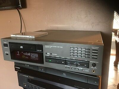 Hi  End Professional Audio CD Player Sony CDP-2700 Custom File  Great Find